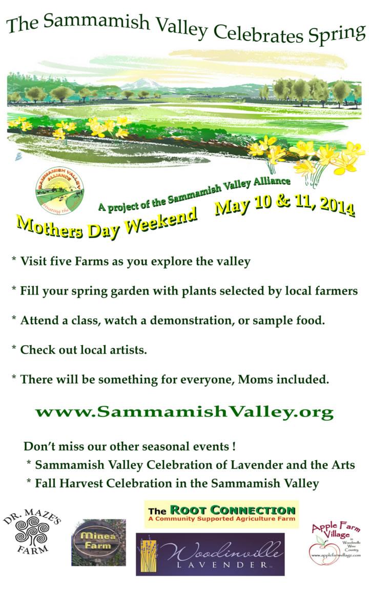 2014 Sammamish Valley Poster Spring