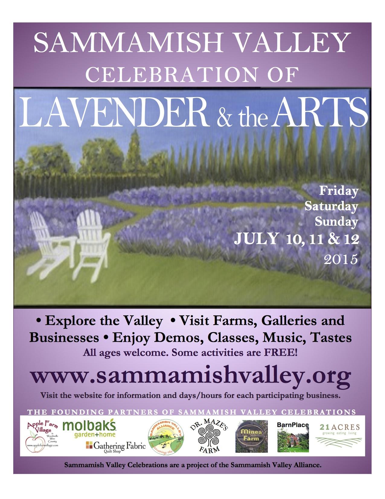 2015 Sammamish Valley Poster Summer