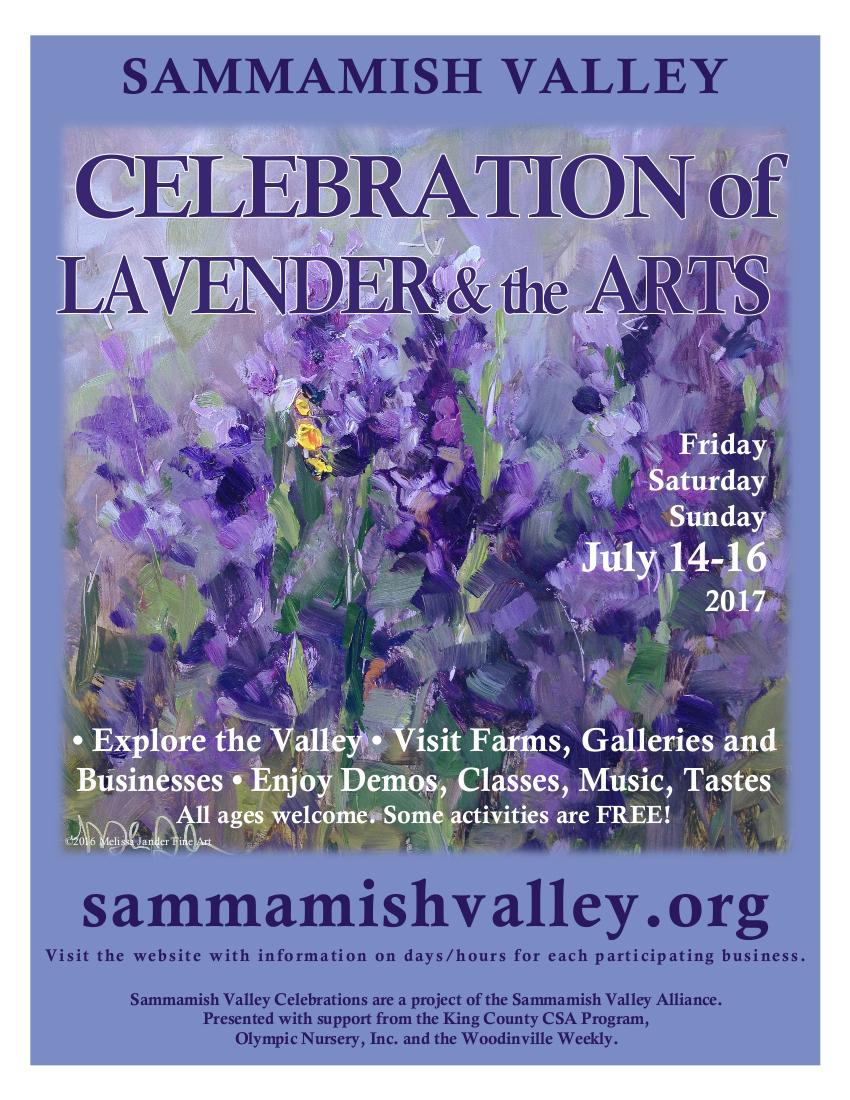 2017 Sammamish Valley Poster Summer